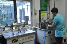 塑料排水管纵向通水试验