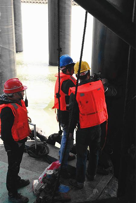 海上钢管桩高应变检测