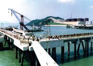 厦门博坦十万吨级油码头工程